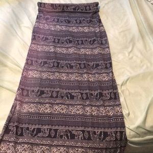 Dresses & Skirts - WEDDING SALE! Elephant Maxi Skirt